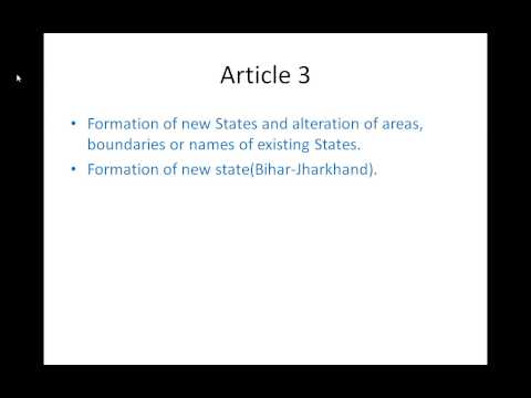 Article 3 in The Constitution Of India 1949