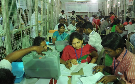 GHMC Voting Reults